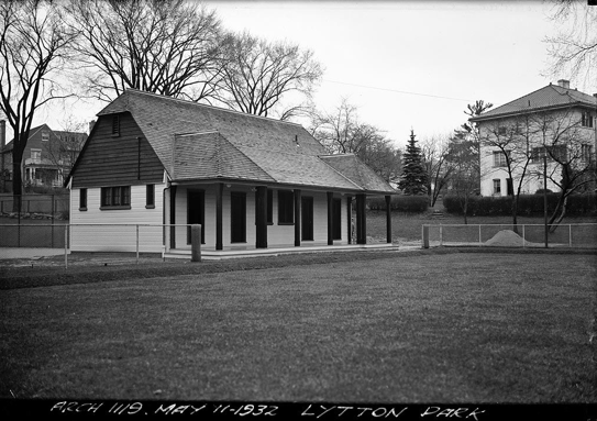 photo of clubhouse in 1932